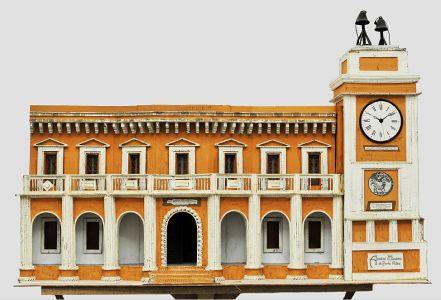 Casa dell Università e torre dell orologio