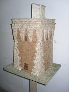 Torre Uluzzo - Ricostruzione