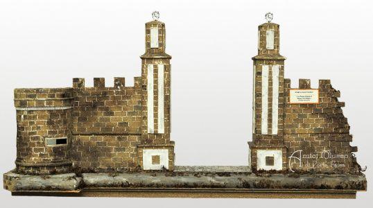 Porta San Paolo nella sua seconda ricostruzione