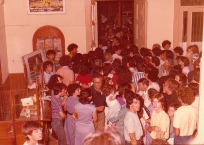Foyer Teatro Augusteo 1981