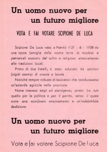 Volantino elettorale 1983