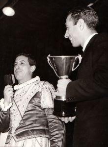 Paolo Zacchino con Cno Tortorella - Mago Zurlì - anni 60